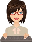 1065446-clipart-friendly-brunette-secretary-with-a-keyboard-7-royalty-free-vector-illustration.jpg
